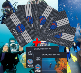 PADI Specialty Instructor Package